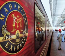 Luxury rail travel such as India's Maharajas' Express is becoming a popular travel trend, according to Cox & Kings USA. // © 2010 Cox & Kings...