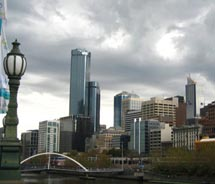 Melbourne is featured in Contiki's brand-new Melbourne Explorer package. // (C) 2010 Contiki Vacations