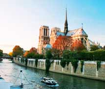 Paris' Notre Dame is one option for visitors traveling to Europe with Globus // (c) 2011 Globus