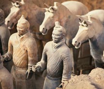The Terra-Cotta Warriors of Xian // © 2010 Ritz Tours
