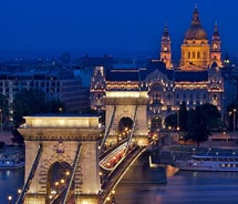 On a Tauck tour of Eastern Europe, clients will see striking city views of Buda and Pest. // © 2011 Jirka Chomat