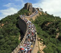 Wendy Wu Tours takes clients to the Great Wall. // © 2012 istockphotos.com