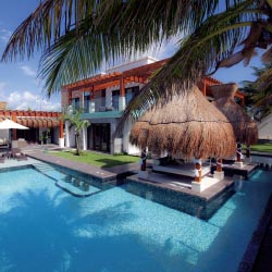 The Azul Villa Esmeralda, by Karisma, is part of Travel Impressions' villa program. // © 2013 Travel Impressions