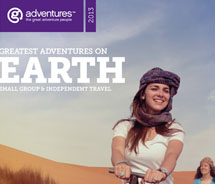 G Adventures' new Earth brochure will be available to travel agents this month. // © 2012 G Adventures