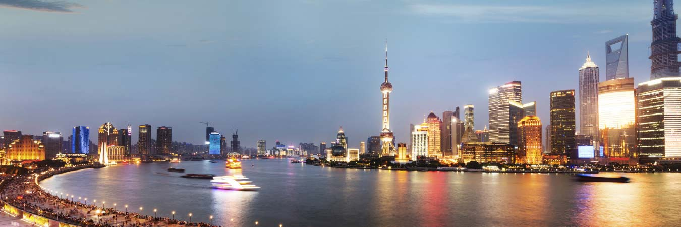 Cruising the Huangpu River