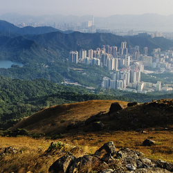 Hong Kong's urban districts are surrounded by lush rural landscape. // © 2014 Thinkstock / stevecimages