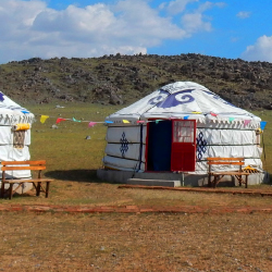 <p>Yin Shan Yan Hua Ger Camp in Inner Mongolia // © 2014 Thinkstock</p><p>Feature image (above):  G Adventures' new Hidden China and Inner Mongolia...