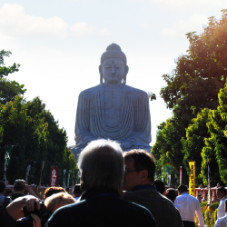 <div>Bodh Gaya, Bihar, where Buddha achieved enlightenment, offers many sites, including the Great Buddha Statue. // © 2015 Mindy...