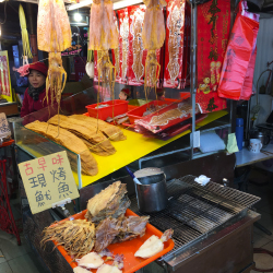 "<p>Gourmet seafood is available at nearby fish markets. // © 2017 Emma Weissmann</p><p>Feature image (above): The ""Queen's Head"" is a 4,000-year-old..."
