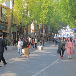 <p>Shopping enthusiasts will find plenty of retail therapy in Sinsa-dong. // © 2017 Getty Images</p><p>Feature image (above): Seoul, South Korea // ©...