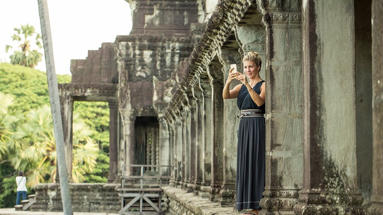 The new Southeast Asia itinerary includes historic sites within Cambodia.