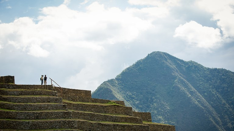 Hike through Peru's Sacred Valley.