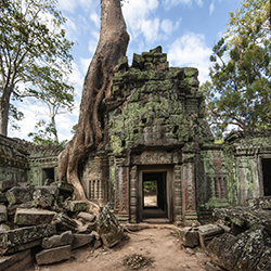 Angkor Wat is one of many sites agents will visit on this Cambodia tour. // © 2015 Thinkstock