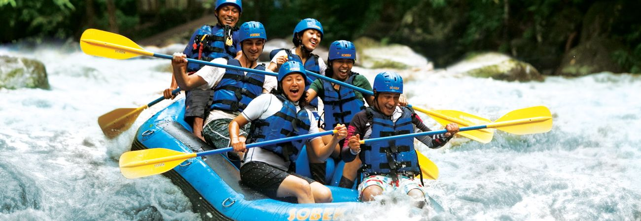 Whitewater Rafting in Bali's Ayung River