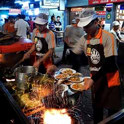 <p>Bangkok Food Tours takes travelers to some of the city's best restaurants, which are often missed by tourists. // © 2016 Shane Nelson</p><p>Feature...