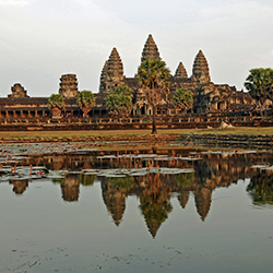 The Angkor Wat temple complex is just one of the stunning stops on this fam trip. // © 2017 Creative Commons user <a...