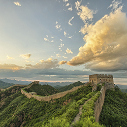 <p>Agents will visit The Great Wall of China while staying in Beijing. // © 2016 iStock</p><p> </p>