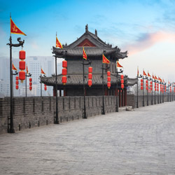 Explore the ancient city of Xian in China. // © 2015 iStock