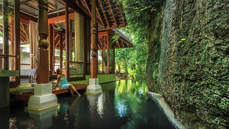 """The five-star Four Seasons Resort Langkawi, Malaysia makes an appearance in """"Crazy Rich Asians."""""""