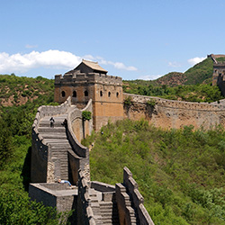 The Great Wall is one of many landmark's that agents will see on this fam trip to China. // 2014 © Chinatour.com