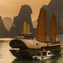 Cruise Halong Bay on this FT Tours fam. // © 2015 Thinkstock