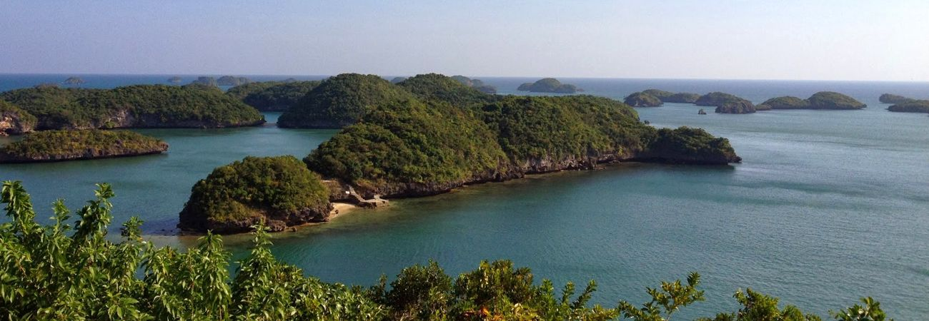 Escape to Hundred Islands