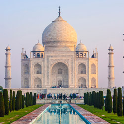 The famous Taj Mahal is among stops on this fam tour through India. // © 2014 Thinkstock