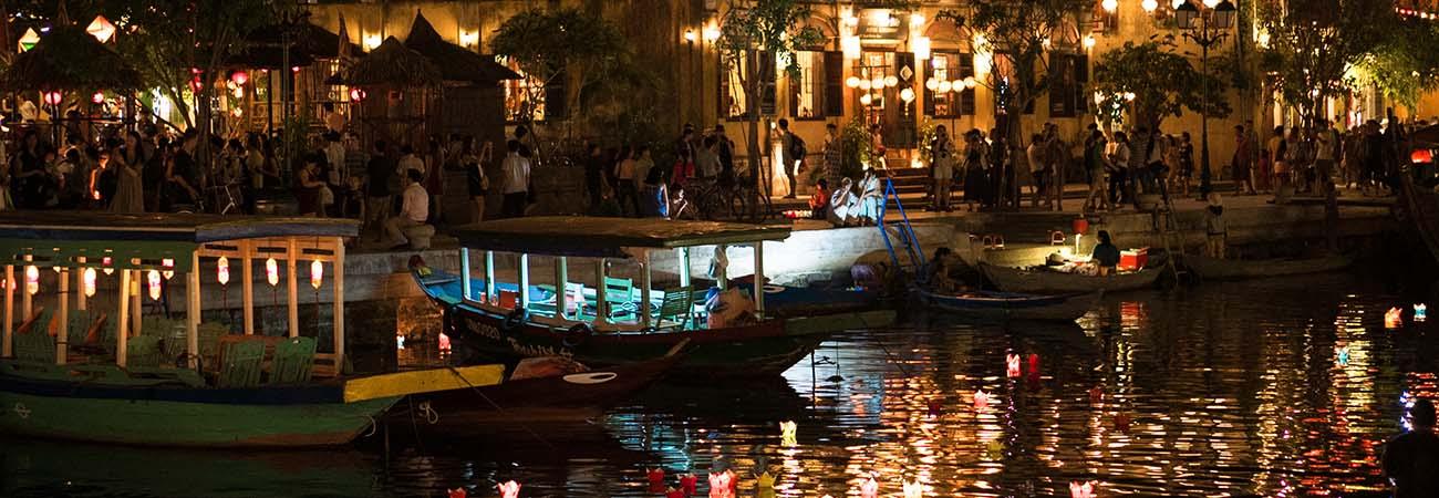 Experience The Full Moon Lantern Festival In Hoi An
