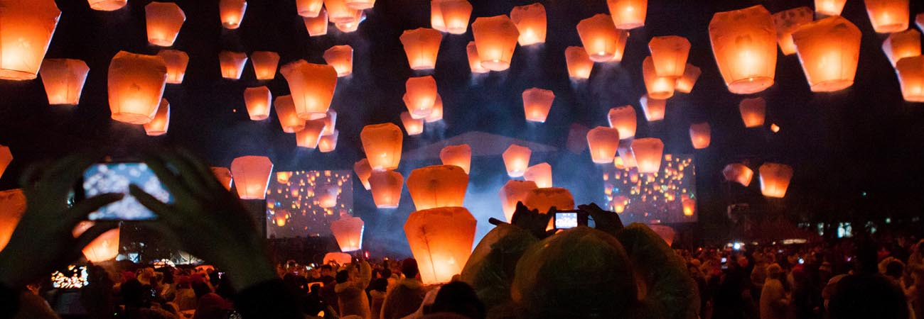 5 Spectacular Floating Lantern Festivals in Asia