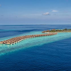 Agents will stay at four island resorts in the Maldives, including Hurawalhi Island Resort. // © 2016 A&A Holidays