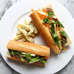 "<p>L'Usine combines French and Vietnamese flavors. // © 2016 <a href=""http://lusinespace.com/cafeteria"" title=""L'Usine""..."