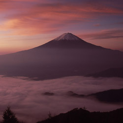Approximately 300,000 people climb Mount Fuji each year during the short summer climbing season. // © 2014 Yamanashi International Association
