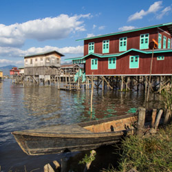 Sightsee in and around Inle Lake on this fam trip in Myanmar. // © 2015 Thinkstock