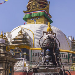 Swayambunath Temple is among many stops on this Pacific Holidays tour. // © 2014 Thinkstock