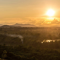 <p>Guests at Papua New Guinea's Karawari Lodge are privy to spectacular views of the Sepik River and beyond. // © 2014 Ian Swain II</p><p>Feature...