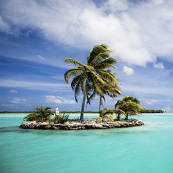 <p>Agents will spend two days on the island of Bora Bora. // © 2016 iStock</p><div></div>