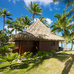 <p>Hotel Kia Ora Resort & Spa offers beachfront bungalows. // © 2015 Hotel Kia Ora Resort & Spa</p><p>Feature image (above): Guests to...