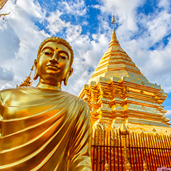 Agents will be able to see sites such as the temple at Doi Suthep during their tour through Thailand. // © 2017 iStock