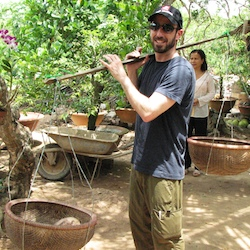 <p>Mark Yacker of Travel Indochina near the Mekong Delta // © 2014 Travel Indochina</p><p>Feature image (above): With Vietnam appearing more in...