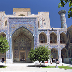 <p>In 2014, Registan Square in Samarkand will host Sharq Taronalari, an international music festival. // © 2014 Thinkstock</p><p>Feature image...