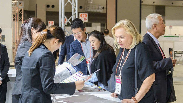 International buyers met with local suppliers for two days of one-on-one appointments.