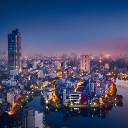 Explore Hanoi, the capital of Vietnam. // © 2015 iStock