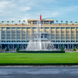 <p>Agents will be able to visit Reunification Hall in Ho Chi Minh City during their eight-day tour of Vietnam. // © 2017 iStock</p><div></div>