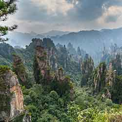 <p>Guests will witness the stunning beauty of Zhangjiajie National Park on this seven-day itinerary. // ©2016 iStock</p><div></div>