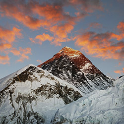 Flying over Mount Everest is an optional excursion on this Nepal trip. // © 2014 Thinkstock