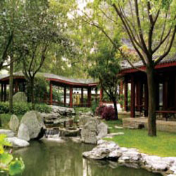 Guests will appreciate the Shangri-La's unique gardens. // © 2013 Shangri-La Hotel Bejing