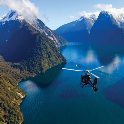 Milford Sound is one of the most visited sites in New Zealand. // © 2014 Swain Destinations