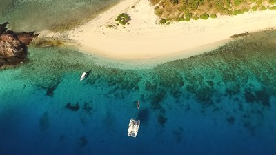 Island-Hop on a Luxury Catamaran With Big Blue Fiji