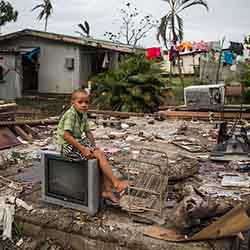 <p>Cyclone Winston was the most severe storm on record in the South Pacific and forced more than 56,000 residents from their homes. // © 2016...