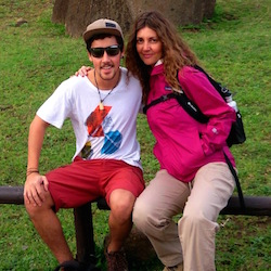 <p>Ana Maria Varela, commercial director for Explora, and her son // © 2015 Ana Maria Varela</p><p>Feature image (above): Easter Island is home to the...